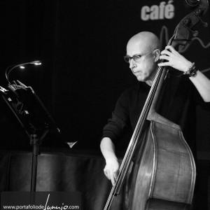 Joan Soler trío en el café Mercedes…