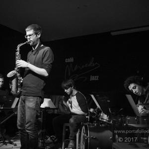 Víctor Jiménez quartet el el café Mercedes